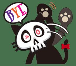 SkullCat sticker #193277