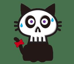 SkullCat sticker #193278