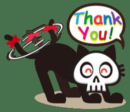 SkullCat sticker #193279