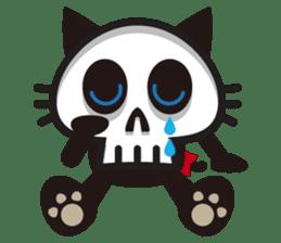 SkullCat sticker #193282