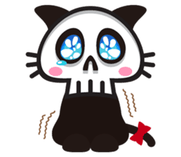 SkullCat sticker #193288