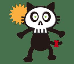 SkullCat sticker #193289