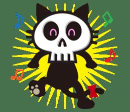 SkullCat sticker #193301
