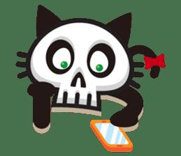 SkullCat sticker #193302