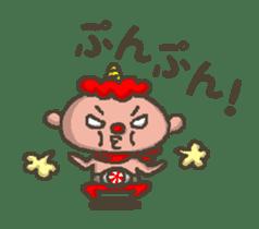 Earth hero babble-chans40 sticker #193446
