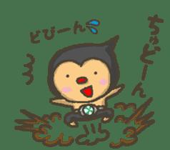 Earth hero babble-chans40 sticker #193449