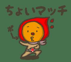 Earth hero babble-chans40 sticker #193451