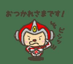 Earth hero babble-chans40 sticker #193455