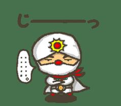 Earth hero babble-chans40 sticker #193458