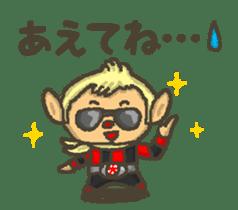 Earth hero babble-chans40 sticker #193460