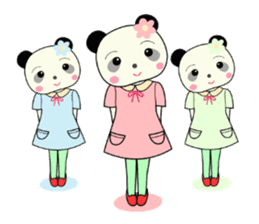 Pandakochan and two friends 2 (English) sticker #193505
