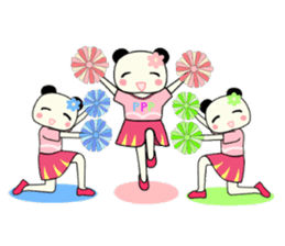 Pandakochan and two friends 2 (English) sticker #193517