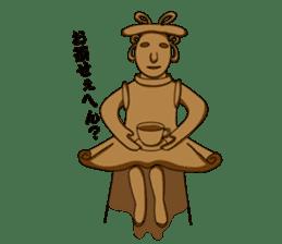 Naniwa Haniwa sticker #194556