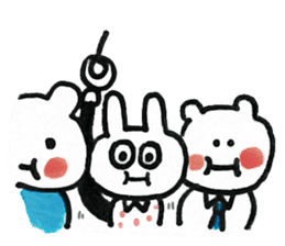 Usagi's best friend sticker #194866