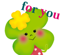 funny flowers sticker #195274