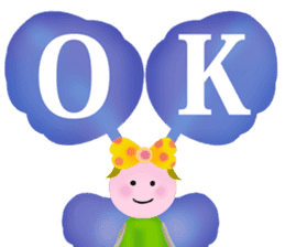 funny flowers sticker #195277