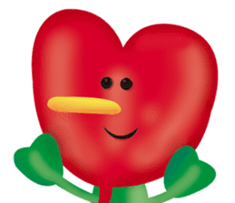 funny flowers sticker #195299
