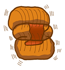 Hamburger sticker #195451