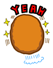 Hamburger sticker #195455