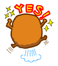 Hamburger sticker #195475