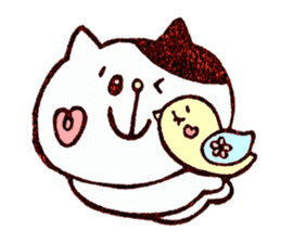 Stamp heartwarming en-chan sticker #195761