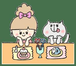 Stamp heartwarming en-chan sticker #195765