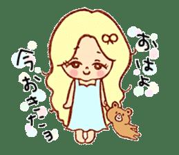 Stamp heartwarming en-chan sticker #195766