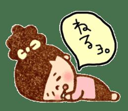 Stamp heartwarming en-chan sticker #195798