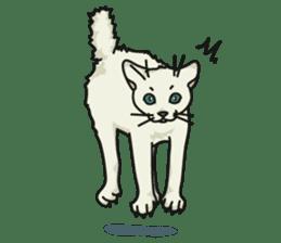NO CAT NO LIFE Satowo cat stamp2 sticker #196184