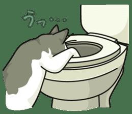 NO CAT NO LIFE Satowo cat stamp2 sticker #196197
