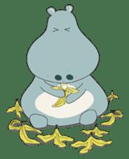 Big Blue The Hungry Hippo sticker #197158