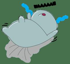 Big Blue The Hungry Hippo sticker #197175