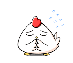 Miss Chicken sticker #197208