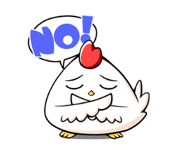Miss Chicken sticker #197211