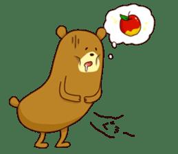 "Sausage Friends ""Bee & Bear"" sticker #197986"