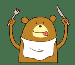 "Sausage Friends ""Bee & Bear"" sticker #197987"