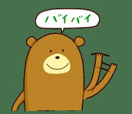 "Sausage Friends ""Bee & Bear"" sticker #197995"