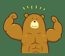 "Sausage Friends ""Bee & Bear"" sticker #197997"