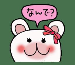 Conversation of Mimi 2 sticker #198090