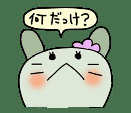 Conversation of Mimi 2 sticker #198109