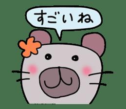Conversation of Mimi 2 sticker #198119