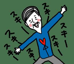 yurusuta(A middle - aged male ver.) sticker #198905