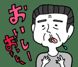 yurusuta(A middle - aged male ver.) sticker #198921