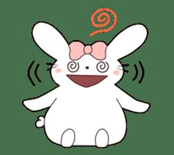 Ribbon of the rabbit sticker #199547