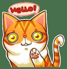 Budwei Cat sticker #199657