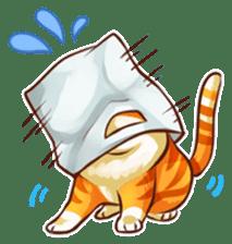 Budwei Cat sticker #199666