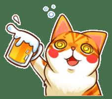 Budwei Cat sticker #199678
