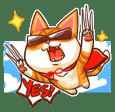 Budwei Cat sticker #199689