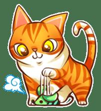 Budwei Cat sticker #199693