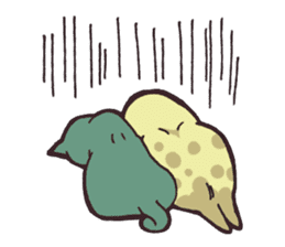 yamaimo & kagishippo sticker #201052